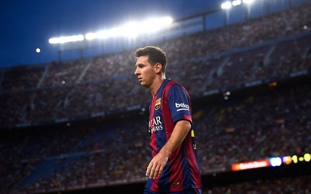 In defence of Barcelona's Lionel Messi