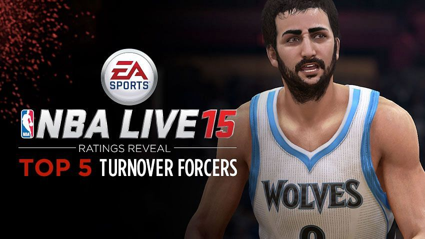 Top 5 Stealers in NBA LIVE 15