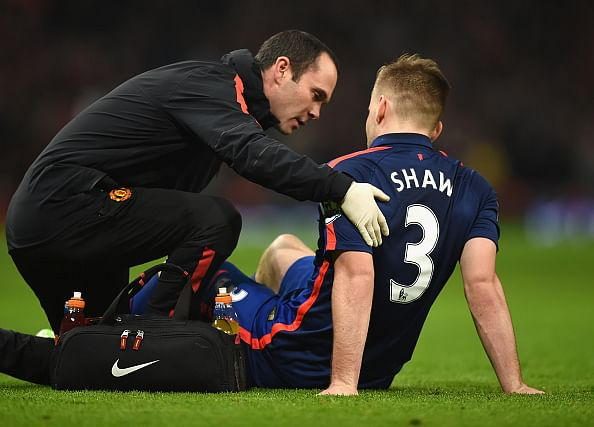 Manchester United star Luke Shaw to miss the rest of the year with ankle injury