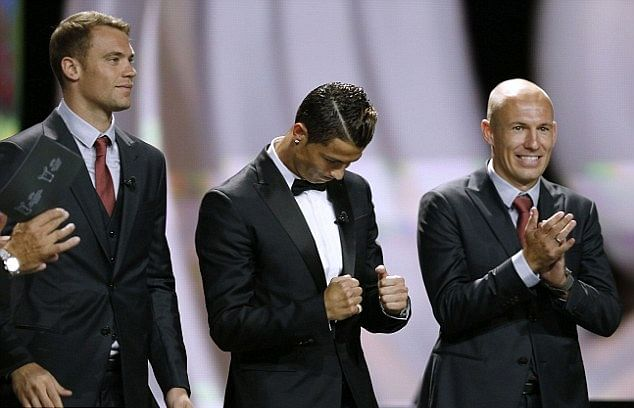 Manuel Neuer takes a dig at Cristiano Ronaldo, says he is not an underwear model