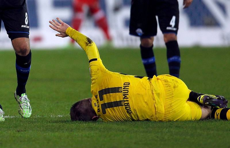 Marco Reus ruled out till 2015 due to ankle injury