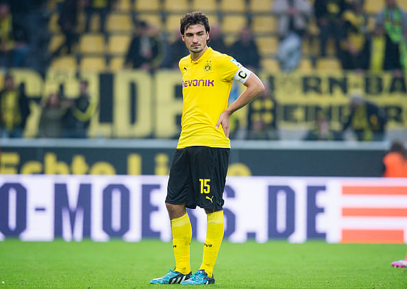 Reports: Manchester United eye January move for Borussia Dortmund's Mats Hummels
