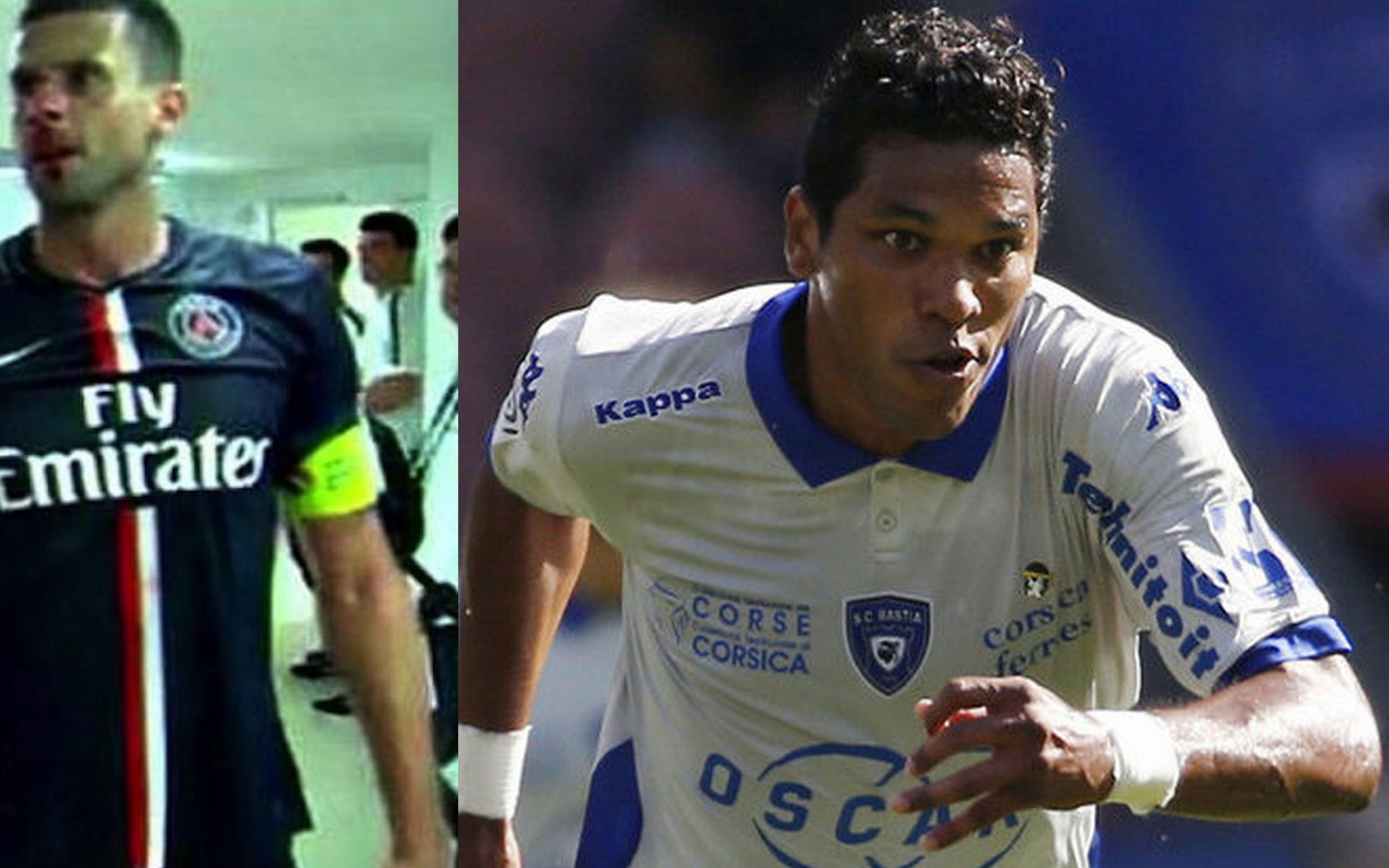 Bastia's front-man Brandao sentenced to one month jail for headbutting PSG's Thiago Motta