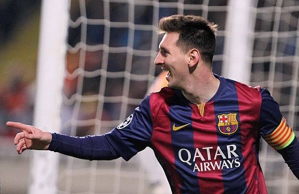 Lionel Messi breaks Raul's UEFA Champions League goals record with a hat-trick against APOEL