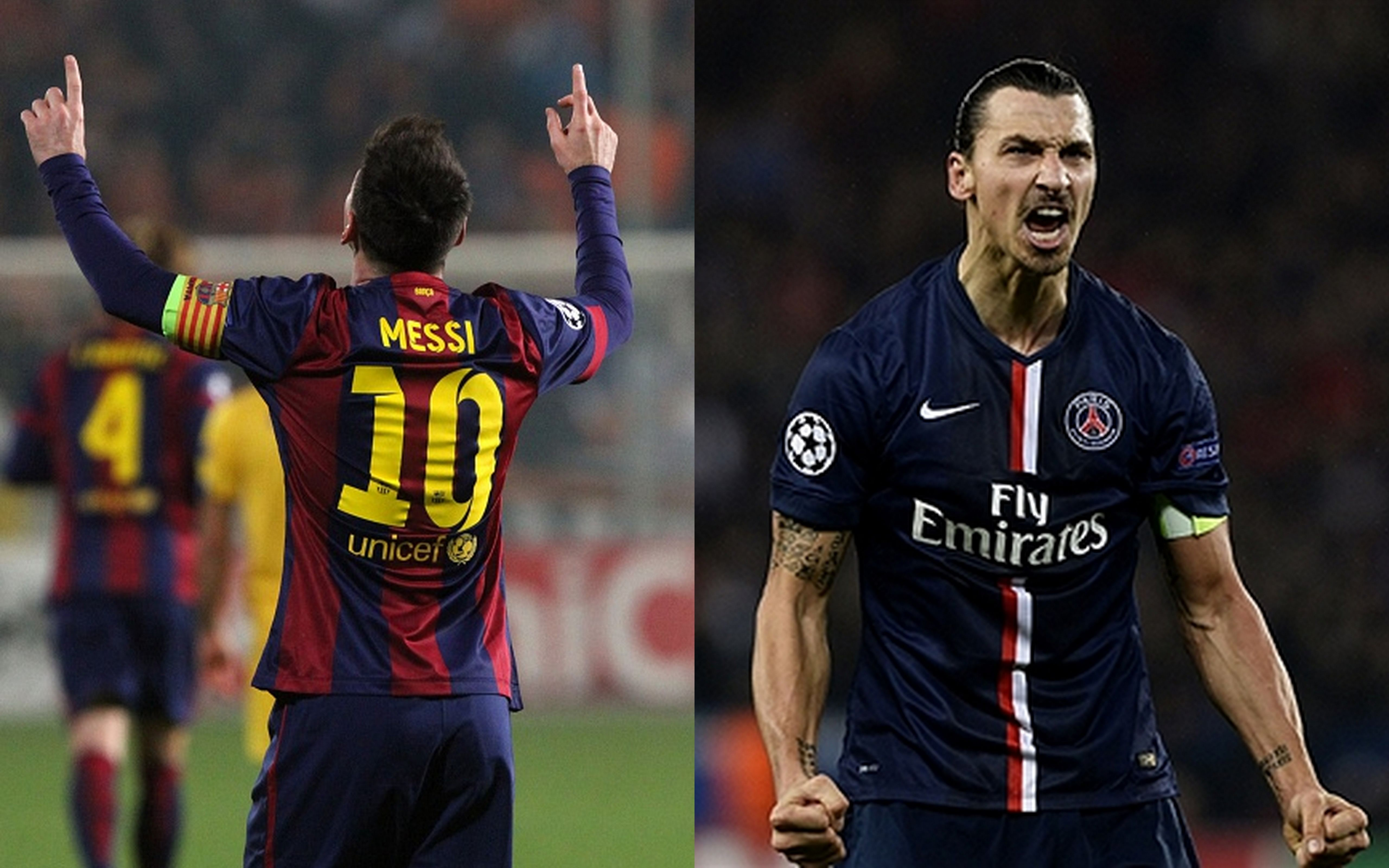 Highlights: Barcelona and PSG claim victories - Golden night for Lionel Messi and Zlatan Ibrahimovic