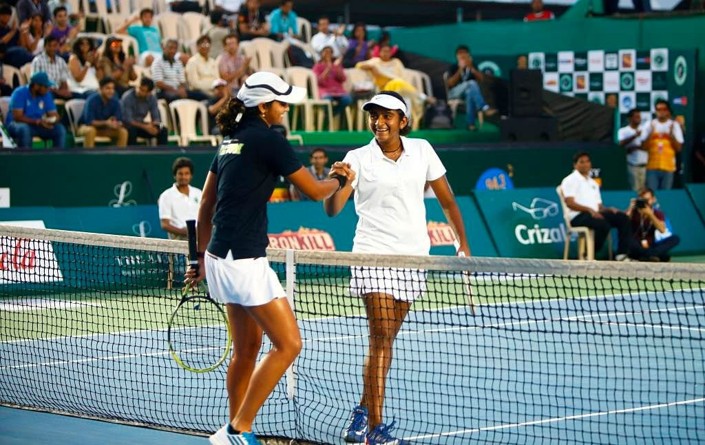Ironkill Mumbai Tennis Masters Vs Wave Punjab Marshalls: Youngsters come to the fore