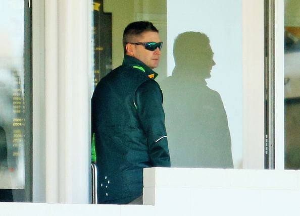 Michael Clarke in serious doubt for 1st Test against India