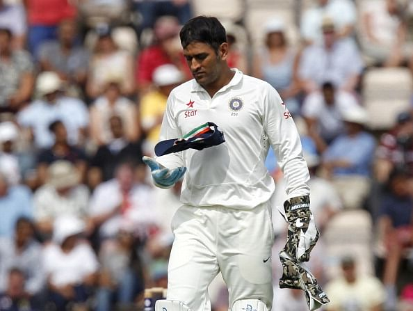 MS Dhoni missing the 1st Test against Australia due to hairline crack in right thumb