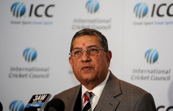 N Srinivasan seeks to be restored as BCCI president