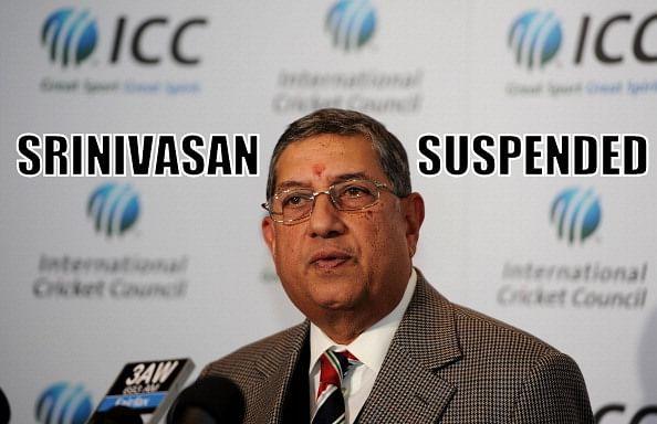 Supreme Court asks N Srinivasan to address conflict of interest