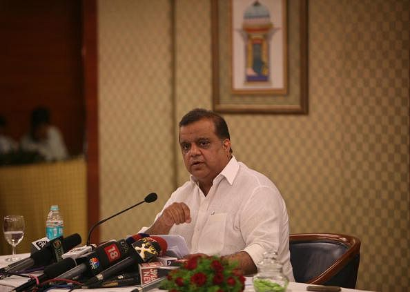 Narinder Batra is a man in a tearing hurry