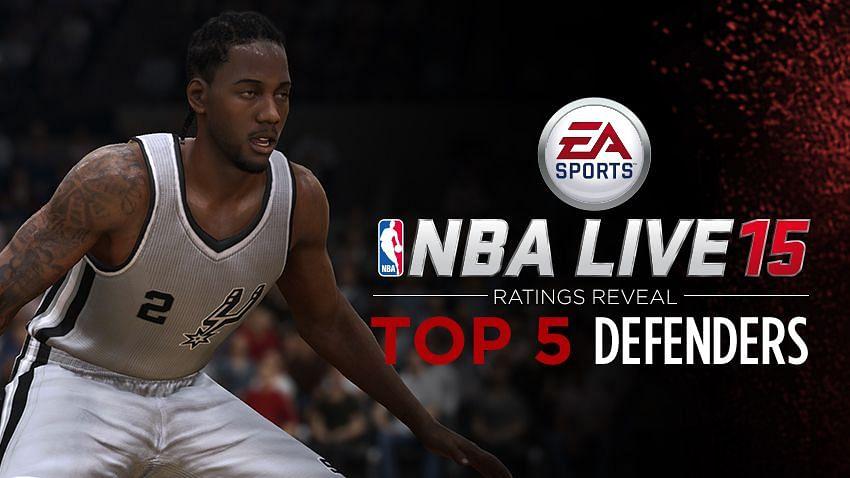 Top Defenders in NBA LIVE 15
