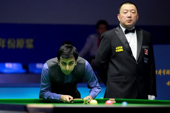 Pankaj Advani advances in World Snooker
