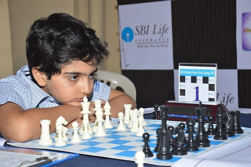 Seven year old, Candidate Master Raahil Mullick, bags Silver in Under 10 MSSA Chess