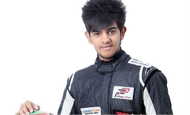 Pole position for Raj Bharath in MRF Challenge