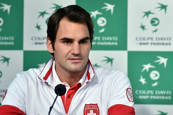 Roger Federer dismisses any rift with Stan Wawrinka and hopes to be fit for the Davis cup tie