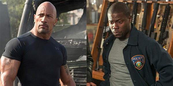 The Rock and Kevin Hart to star in new big-budget film