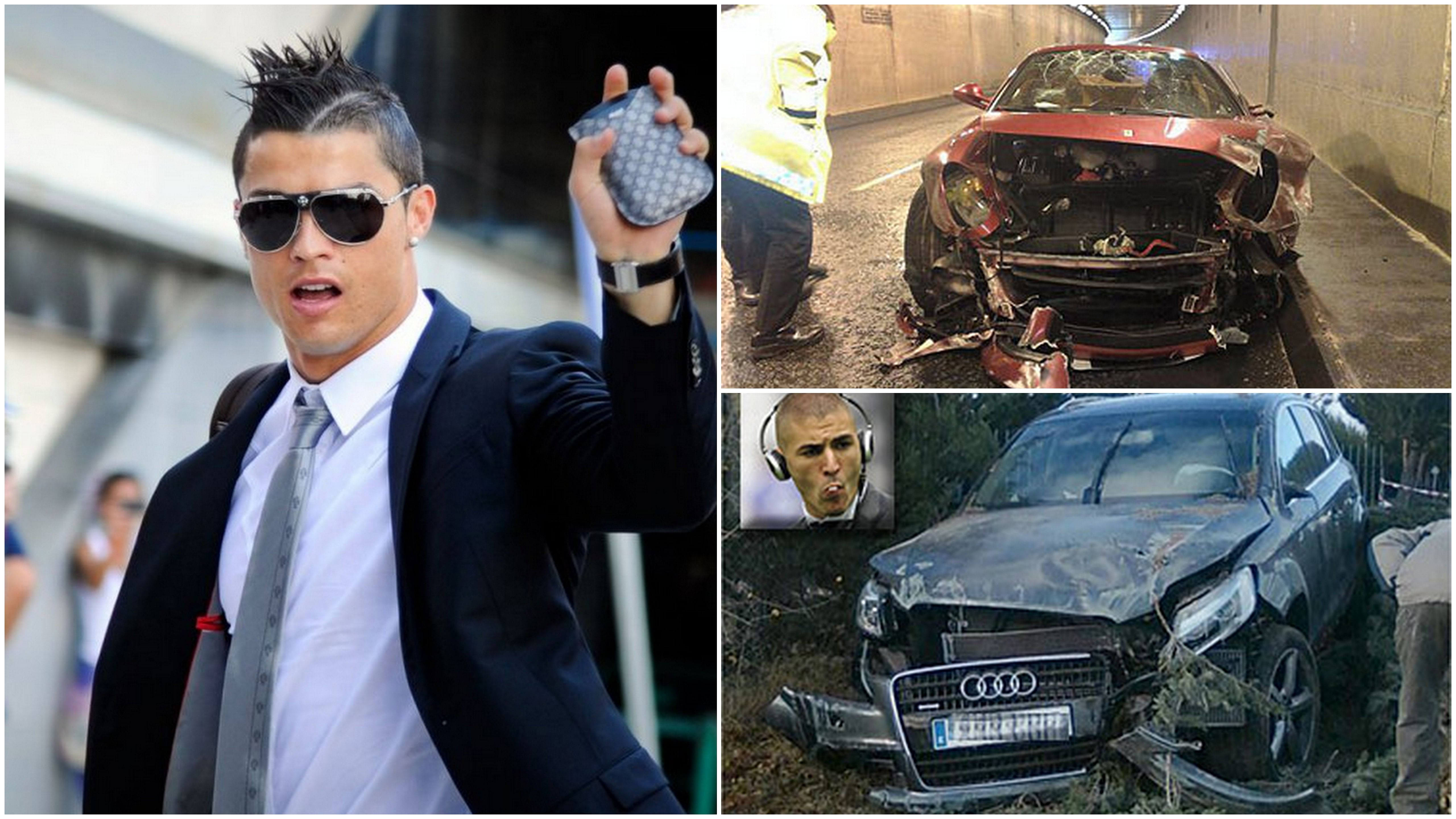 10 footballers who were involved in car accidents