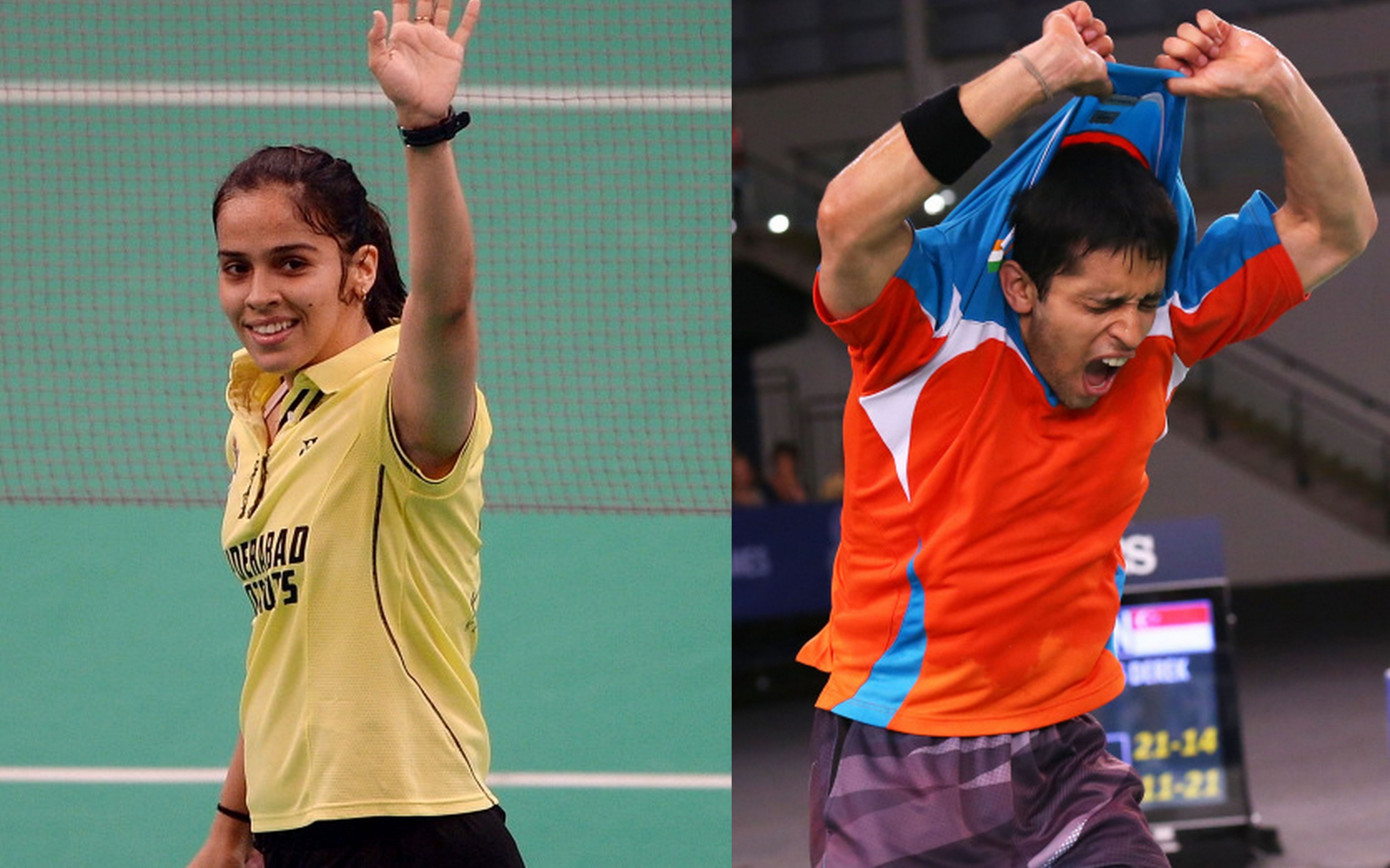 Saina, Kashyap seeded 5th, 6th for Super Series Finals