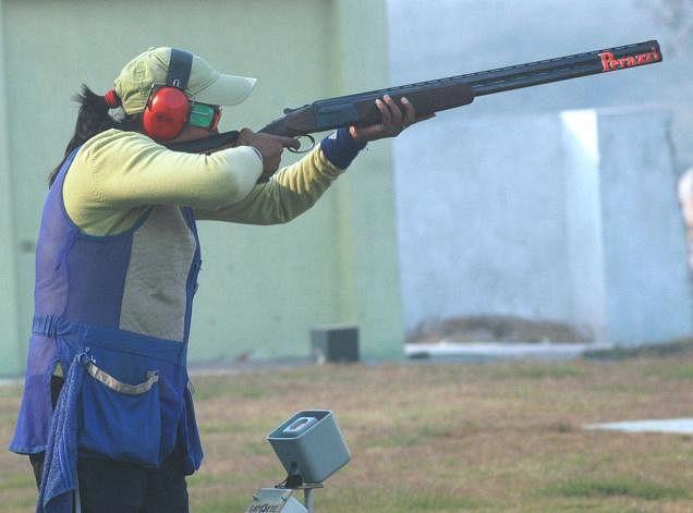 Seema Tomar shoots gold at Asian Shotgun Championship
