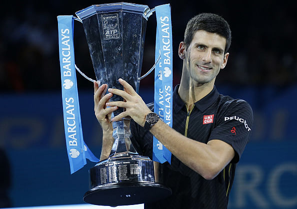 Novak Djokovic wins his fourth ATP tour finals courtesy a walk-over