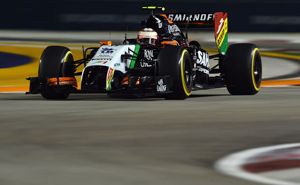 Sergio Perez pens new contract with Force India