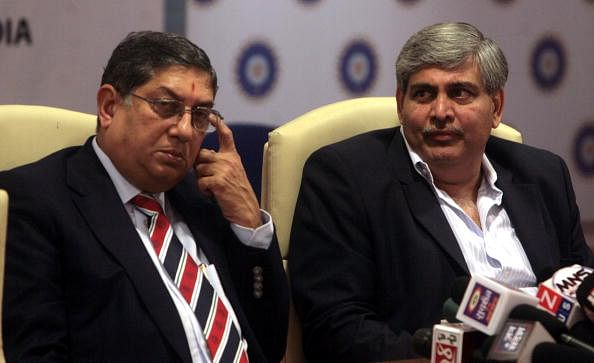 Former BCCI president Shashank Manohar hits out at N Srinivasan following Mudgal committee report
