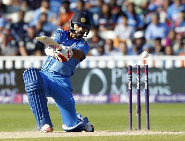 Shikhar Dhawan jumps to No.5 spot in ICC ODI batting rankings