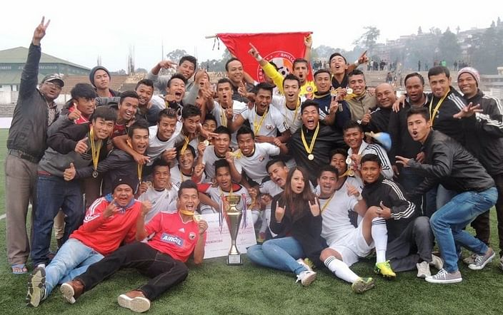 Shillong Lajong Juniors win the Shillong Premier League in style