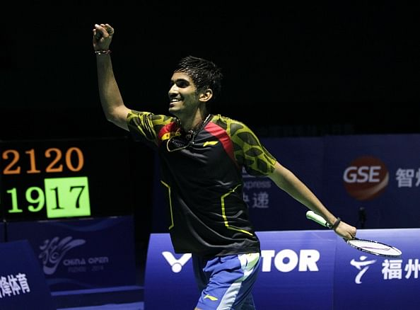 Srikanth wins title, achieves dream of beating Lin Dan