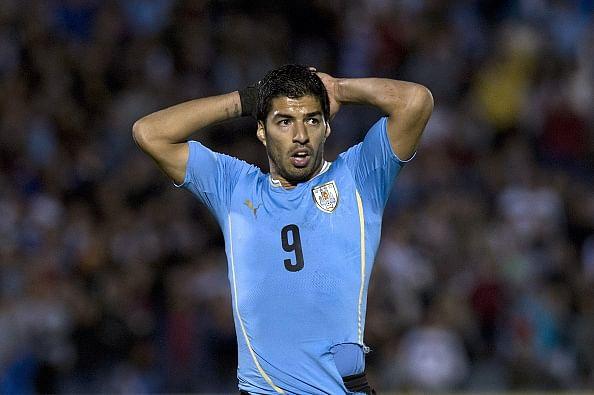 Luis Suarez set to miss Uruguay friendly against Chile