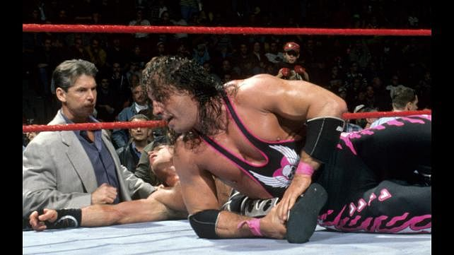 Bret Hart reveals he knocked out Vince Mcmahon and would've choked HBK