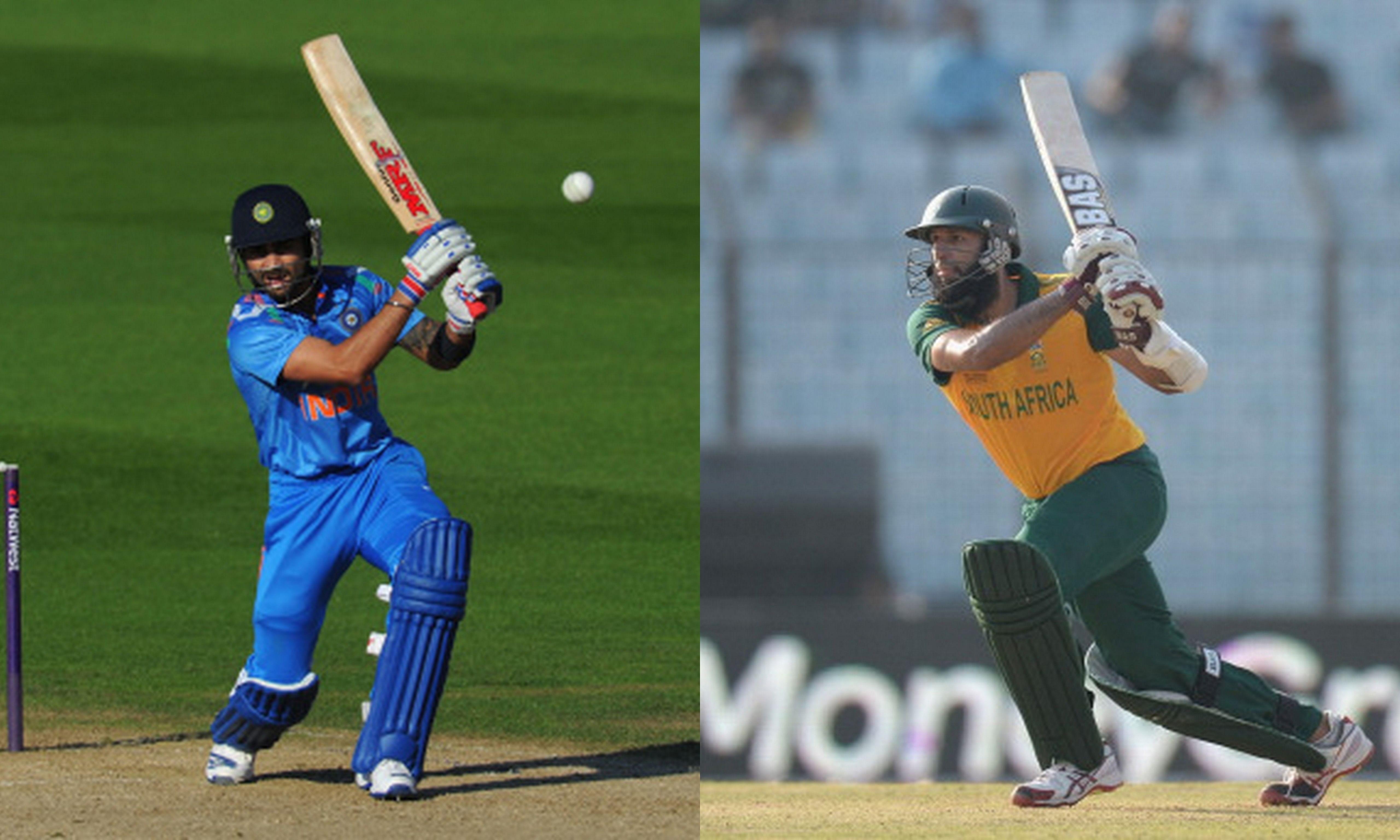 Statistical comparison - ODIs: Virat Kohli vs Hashim Amla