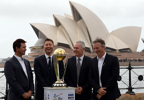 ICC Cricket World Cup trophy arrives in South Australia