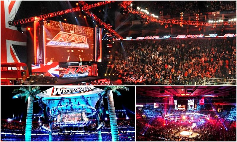 10 of the best WWE venues in the world