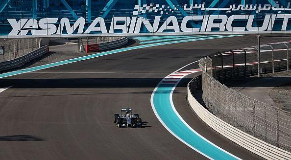 Abu Dhabi GP schedule