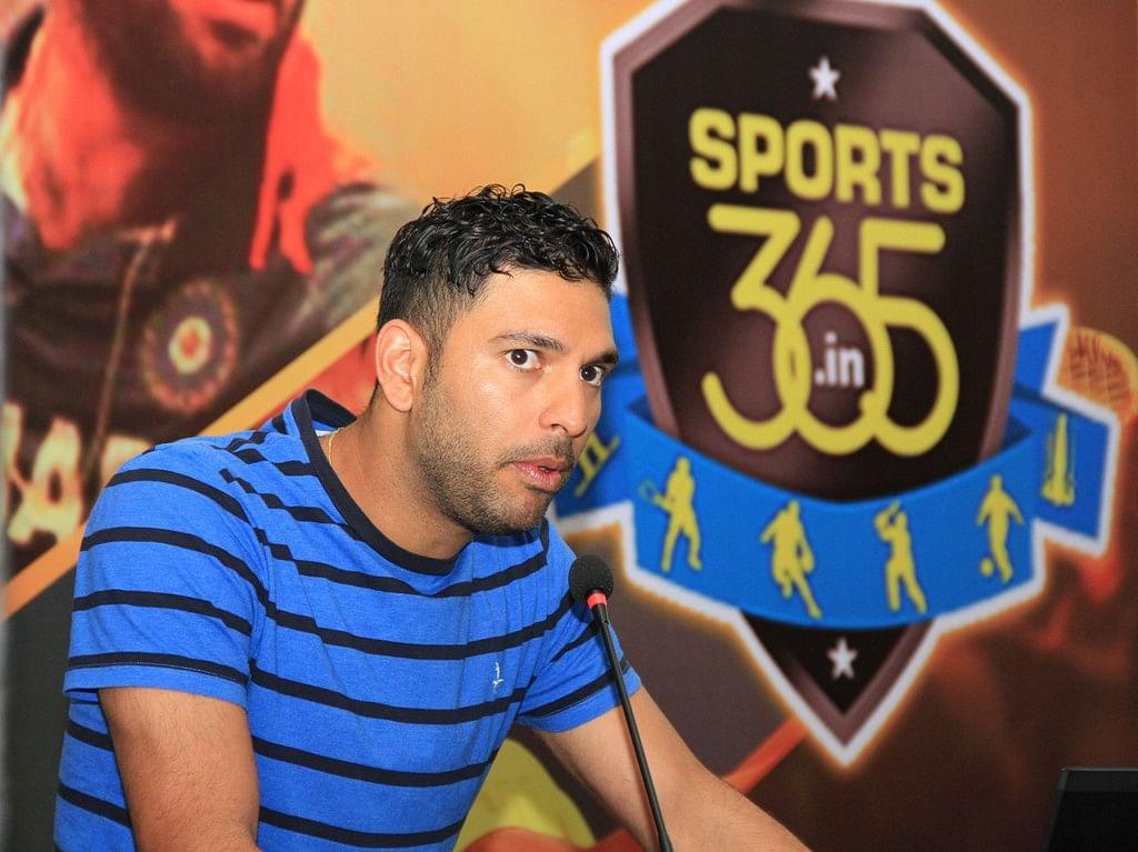Sports365 unveils 'Time Out', a unique corporate wellness program with brand ambassador Yuvraj Singh