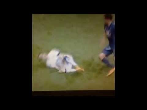 VIDEO: Leeds United's Adryan's reaction to a tackle