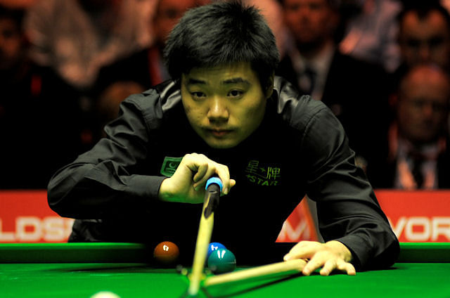 Proud to be world No. 1 in snooker: Ding Junhui