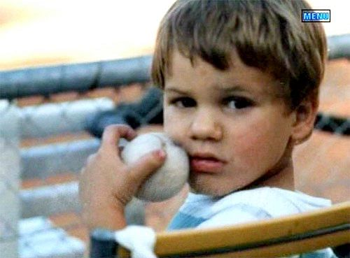 Best childhood pictures of famous tennis stars