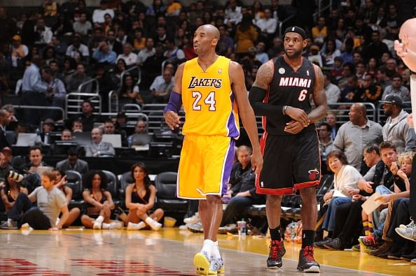 On the same boat: Kobe Bryant and LeBron James must think pass first to win games