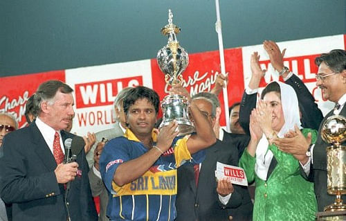 Team history at Cricket World Cup - Sri Lanka (1975-2011)