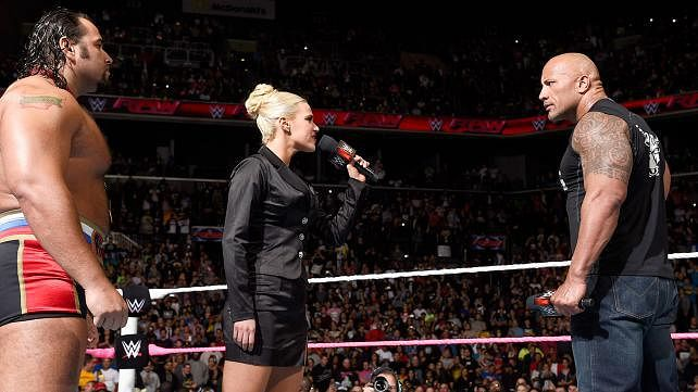 More on WWE RAW and Lana Threatens The Rock Again