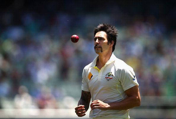Mitchell Johnson's brutal bowling spells at Brisbane in 2013
