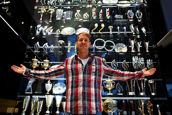 Stolen Red Bull trophies found in lake