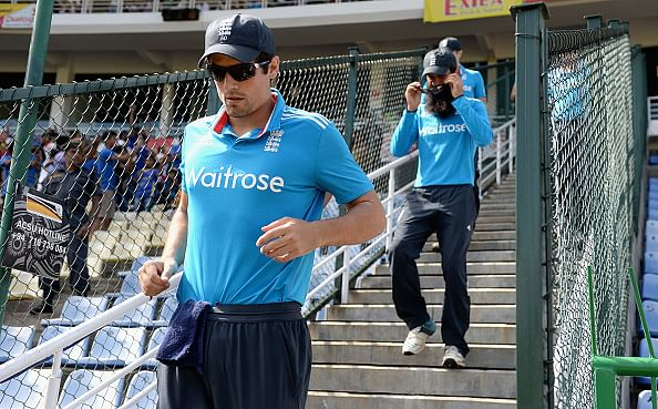 Coach Peter Moores leaves Alastair Cook's England captaincy in balance