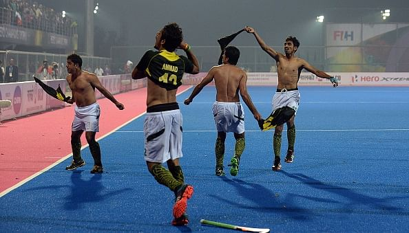 Pakistan hockey team's ugly celebration was uncalled for