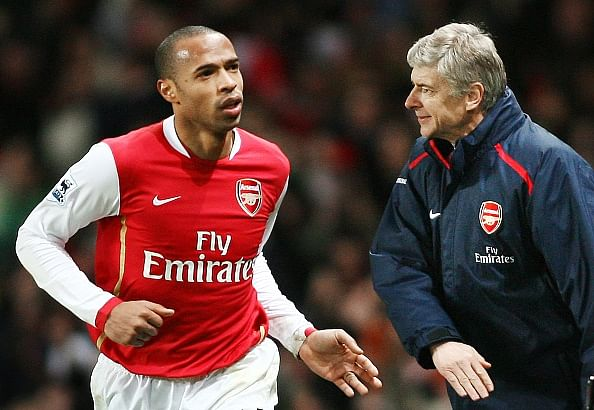 Is Thierry Henry to take over Arsenal reins from 2017?