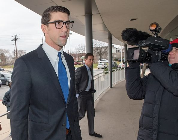 Michael Phelps gets suspended jail sentence after pleading guilty to drink-driving