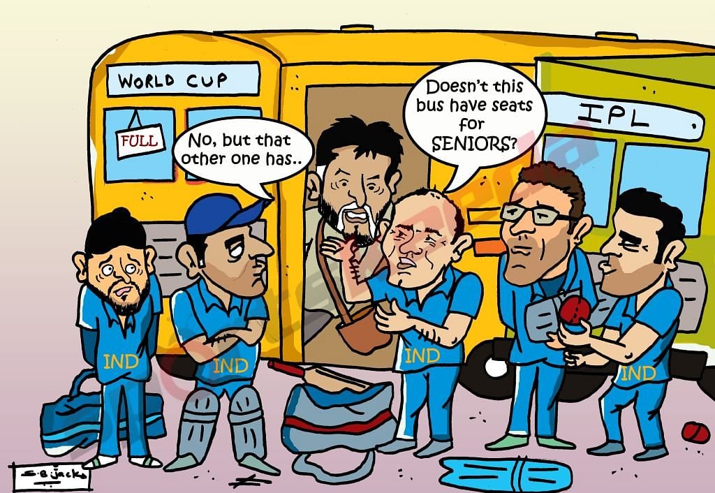 Comic: Seniors not included in India's list of probables for World Cup